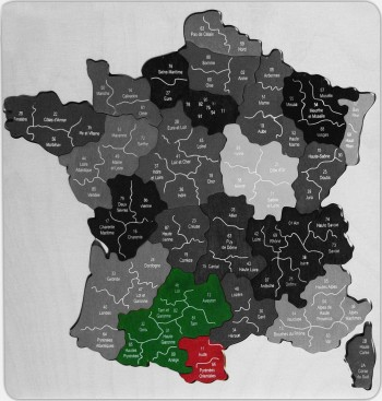 Carte france zone intervention LS